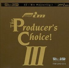 NEW The Producer's Choice! III (Ultra HD 32-Bit Master) (Audio CD)
