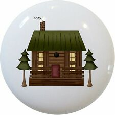 Log CABIN Country CABINET DRAWER Pull KNOB