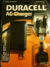 Duracell AC Charger iphone, ipod , droid, nokia, samsung, kindle model dur152