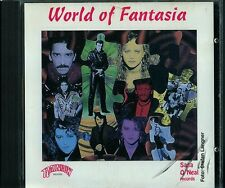 World of Fantasia   CD-SAMPLER   RAINBOW RECORDS   (c) WEST GERMANY