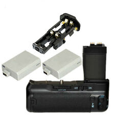 Muti-Power Battery Grip pack for Canon EOS T3i T2i 550D 600D + 2 LP-E8 Battery
