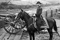 New 5x7 Civil War Photo: General William Tecumseh Sherman on Horseback, Atlanta