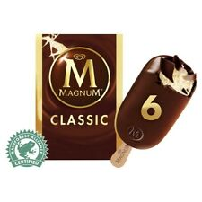 Streets Magnum Classic Mini Ice Cream Sticks 6 Pack 360mL