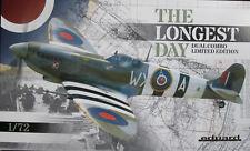 Eduard 1/72 EDK2125 Supermarine Spitfire Mk IX Longest Day dual combo Ltd Ed kit