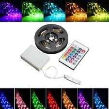 2m bandeau ruban 60led smd 5050 RGB NonEtanche+telecommande+boitier pile+capteur