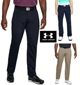 New UNDER ARMOUR UA Tech Golf Trousers - Straight Leg 32 34 36 40 - RRP £55