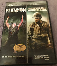 New listing Double Feature 2 - Dvd Set - Platoon And Windtalkers