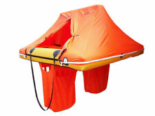 WAYPOINT 4 Person Coastal Single Tube Marine Boat Safety Liferaft - Valise