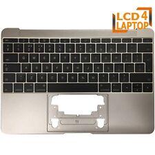 """Topcase For Apple Macbook 12"""" A1534 Grey 661-04881 Palmrest Housings UK Keyboard"""