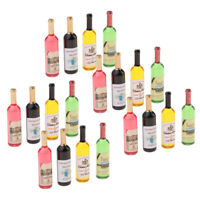 Pack of 20 Dollhouse Miniature Wine Bottle Champagne Model for 1:12 scale