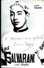 LIVIO TRAPE SALVARANI 63 Signature PRINTED Autograph REPRO cyclisme ciclismo