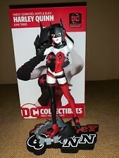 New ListingDc Comics Harley Quinn Red White & Black Statue By John Timms New