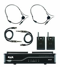 CAD Audio - GXLVBBJ - VHF Wireless Dual Bodypack Microphone System
