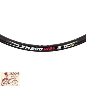 "WEINMANN XM280 DISC 36H---29""  BLACK BICYCLE RIM"
