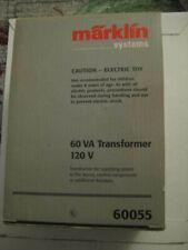 Marklin H0 60055 Digital Transformer (120 volts, 60VA) from Marklin Starter Set