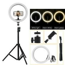 """Anillo de luz LED de tienda Reino Unido 12"""" Kit de iluminación LED Regulable exterior con soporte ligero 2M"""