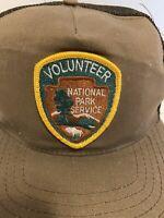 National Park Service Volunteer Snapback Mesh Trucker Hat NPS
