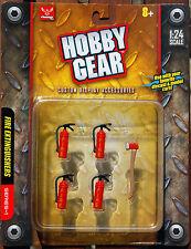 17017 Feuerlöscher und Axt Werkstatt Autoreparatur Werkzeug, 1:24, Hobby Gear