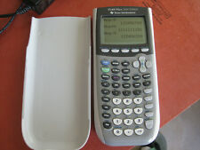 Ti-84 Plus Silver Edition Texas Instruments Calculator with Cover -FREE SHIPPING