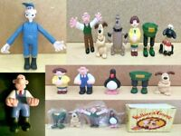 Wallace & Gromit & Shaun the Sheep Figures & Soft Toys