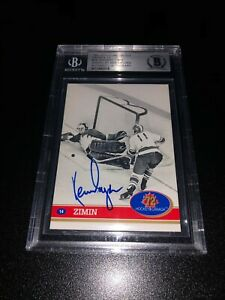 Ken Dryden Signed 1991-92 Future Trends '72 Summit Series Canada BAS Slabbed