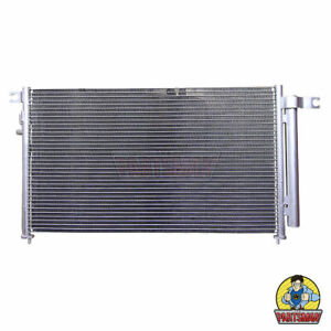 A/C Condenser Kia Rio JB 5/05-6/11 1.4L & 1.6L 4Cyl Inc Reciever Drier