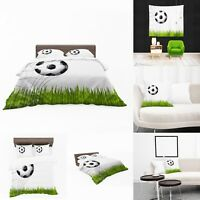 UK Made 3D Football Goal Print Duvet Covers or Tapestry or Cushions