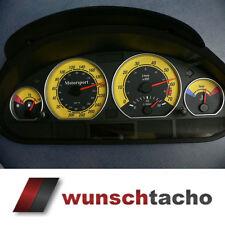 Cadran de compteur Vitesse Pour Compte-Tours BMW e46 essence Jaune 310 kmh.m3