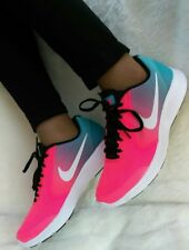 7.5 women's Nike Air RVLTN Running casual shoes Multicolor PINK BLUE WHITE LIGHT