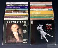 """20 verschiedene Klassik Schallplatten 12"""" LP"""