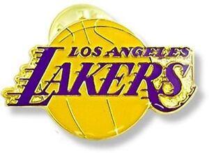 LOS ANGELES LAKERS - TEAM LOGO - LAPEL/HAT PIN - BRAND NEW - NBA-PN-001-25