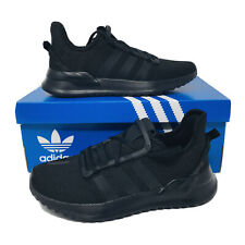 Adidas U Path Run PS (Youth/Kids Size 2 Y) Black Sneakers Athletic Shoes