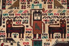 Sunning Pictorial Wall Hanging Rug,Beauiful Shikar Gha Carpet