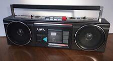 Vintage Aiwa Stereo 210 Boombox Radio Cassette Recorder CS-210U