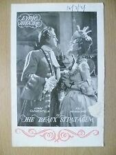 Lyric Theatre Programme 1949-J Clements,K Hammond in THE BEAUX STRATAGEM-E Hayes