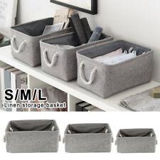 Desk Storage Basket Closet Sundries Underwear Stationery Container Toy Organizer