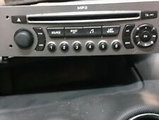 Peugeot 308 CC Convertible RD4 Radio Stereo CD Player 96650205XH FREE VIN CODING