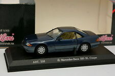 Detail cars 1/43 - Mercedes 320 SL Bleue