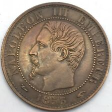 France Napoleon III 5 centimes 1853 A bronze #1098