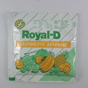 25G ROYAL D ELECTROLYTE  FOR ATHLETES FITNESS SPORT FRUIT BEVERAGE SOFT DRINK
