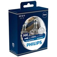 Philips RacingVision H4 +150%*  Halogenlampe 12342RV+S2 Duo 2 Stk^.