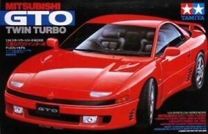 TAMIYA 24108 Mitsubishi GTO Twin Turbo 1:24 Car Model Kit