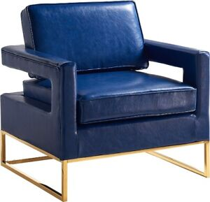 Noah Leather Accent Chair