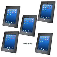 Lot of 5 Pyle PSPADLKW5 Anti-Theft Kiosk Multi Mount Stand for iPad 2/3/4 & iPad