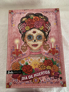 Barbie Dia De Los Muertos 2020 (Day of The Dead) DOTD Pink Doll NIB Halloween