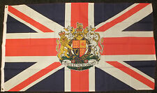 UK Royal Crest Flag British Jubilee Queen Elizabeth II Celebration Union Jack bn