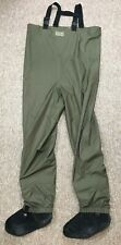 LL BEAN Fly Fishing Stocking Foot Chest Waders Men's LARGE Reg
