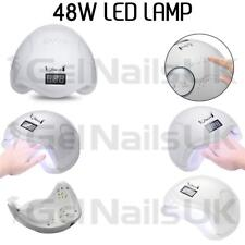 48W Led Nail Light Lamp Manicure Dryer Curing  UV Gel Nail Polish Art Timer