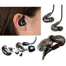 Shure SE215 Dynamic Microdriver Earphones – Black