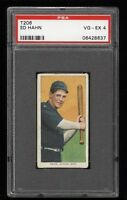 1909-11 T206 Ed Hahn Sweet Caporal 150 Chicago PSA 4 VG-EX Low Population